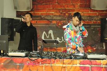 魔声DJ培训MC Mr.蒋&DJ胡斌配合练习