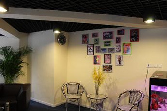 魔声DJ培训中心创意DJ照片墙