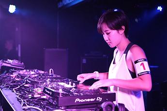 魔声DJ学校第十四届先锋DJ大赛磨盘组DJ璐佳