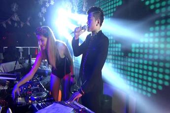 魔声DJ学员Justin上海Liv酒吧喊麦视频