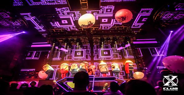 魔声学员DJ、Mc Justin上海X高端Club现场喊麦