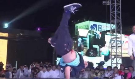 国际赛最狂野的斗舞方式!
