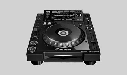 职业DJ行业标准:Pioneer CDJ