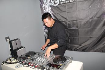 湖南长沙DJ学员唐小聪练习照片