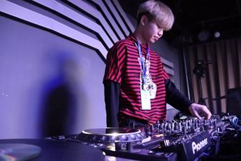 浙江温州DJ学员戴先浩练习照片