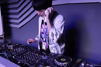陕西西安DJ学员孙凯歌练习照