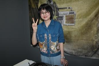 浙江金华DJ学员楼纪越打碟照片