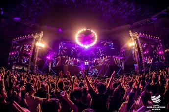 超嗨系列大型音乐节打碟视频