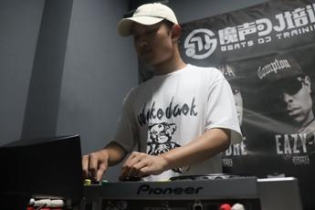 广西南宁DJ学员伍宏剑练习照片