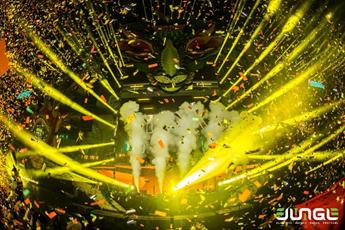 大型电音节百大DJ超燃现场视频