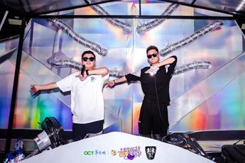 魔声DJ学员EK/LYing上海EV电音节现场照片