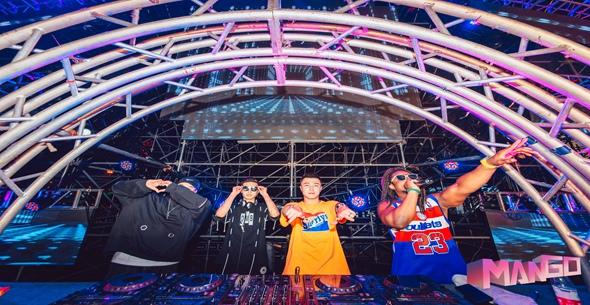 魔声DJ培训学校MANGO音乐节现场大合集