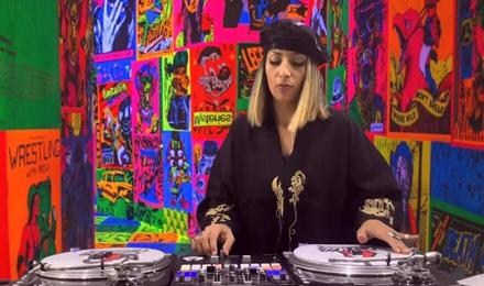 HipHop女DJ日常操作秀