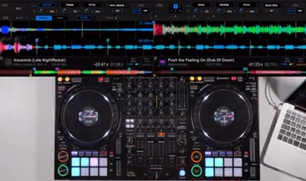 DDJ1000控制器,花式混音小技巧