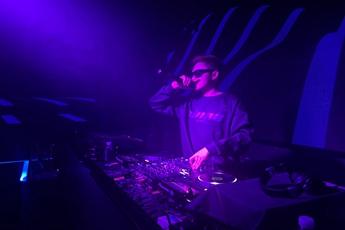 魔声DJ学员王辉上海V+House就业现场照片