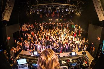 奥斯卡派对场空降百大DJ现场打碟视频