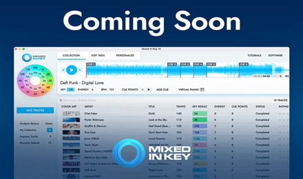 Mixed In Key 10可将自动Cue点导出至Rekordbox